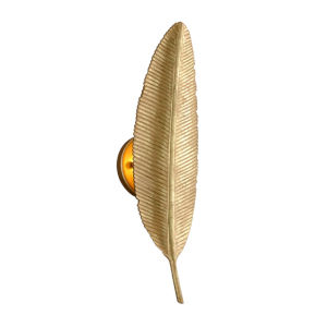 Featherette Mystic Gold Five-Inch One-Light ADA Wall Sconce