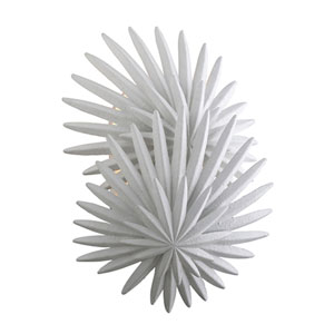 Savvy Gesso White Two-Light Wall Sconce