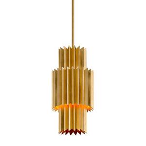 Moxy Gold Leaf One-Light Mini Pendant