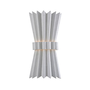 Moxy Gesso White Two-Light Wall Sconce