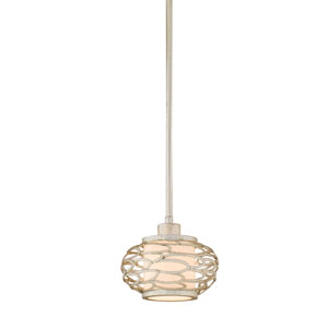Cesto Modern Silver One-Light Mini Pendant