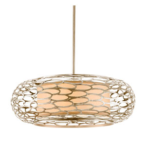 Cesto Modern Silver Five-Light Pendant