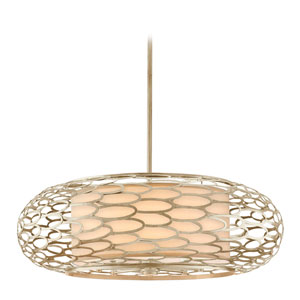 Cesto Modern Silver Eight-Light Pendant