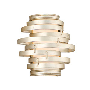 Vertigo Modern Silver One-Light Wall Sconce