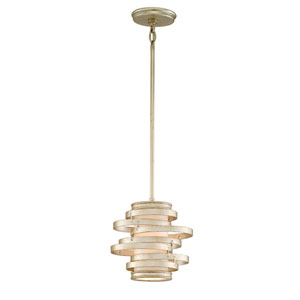 Vertigo Modern Silver One-Light Mini Pendant