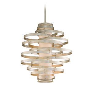 Vertigo Modern Silver Three-Light Pendant
