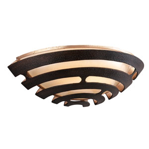 Tango Textured Bronze One-Light LED Wall Sconce