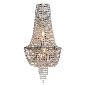 Vixen Polished Nickel Three-Light Jewel Wall Sconce