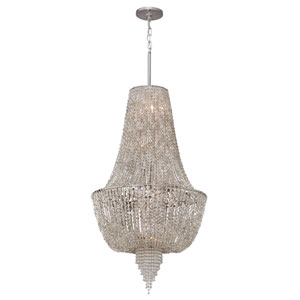 Vixen Polished Nickel Six-Light Polished Pendant