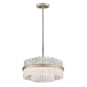 Chime Silver Leaf 20-Inch Four-Light  Pendant