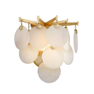 Serenity Gold Leaf LED One-Light Wall Sconce