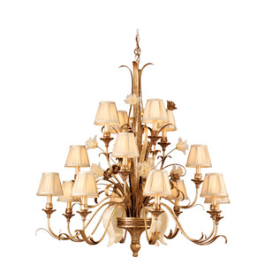Tivoli Silver 16-Light Chandelier