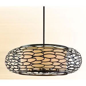 Cesto Napoli Bronze 10-Light Pendant