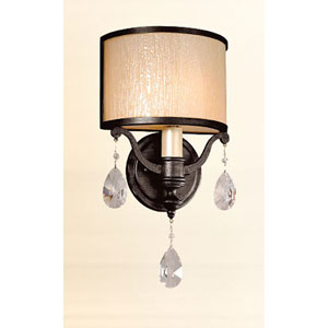 Roma Classic Bronze One-Light Wall Sconce