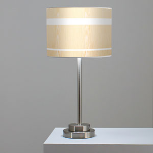 Band White Oak One-Light Table Lamp