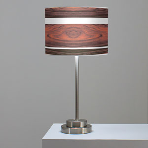 Band Rosewood One-Light Table Lamp