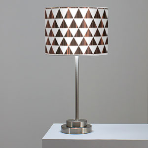 Triangle 1 Ebony One-Light Table Lamp
