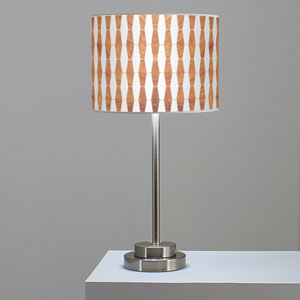 Weave 1 Mahogany One-Light Table Lamp