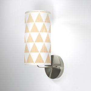 Triangle 1 White Oak One-Light Wall Sconce