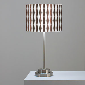 Weave 1 Ebony One-Light Table Lamp