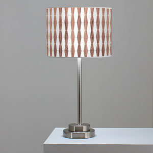 Weave 1 Walnut One-Light Table Lamp