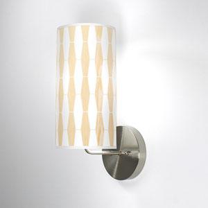Weave 1 White Oak One-Light Wall Sconce