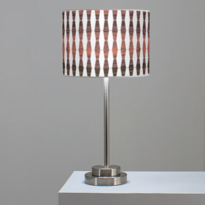 Weave 1 Rosewood One-Light Table Lamp