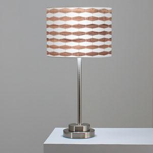 Weave 3 Walnut One-Light Table Lamp