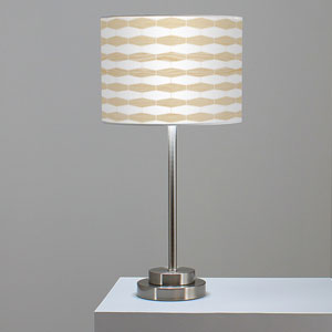 Weave 3 White Oak One-Light Table Lamp
