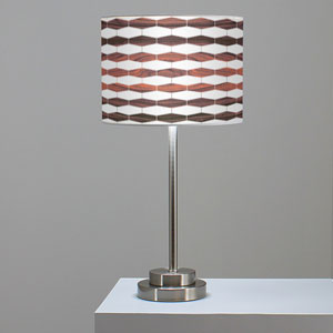 Weave 3 Rosewood One-Light Table Lamp