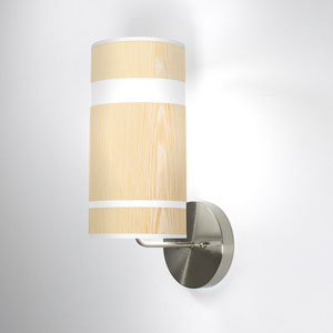 Band White Oak One-Light Wall Sconce