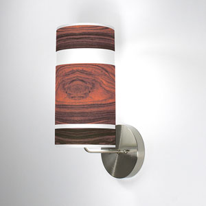 Band Rosewood One-Light Wall Sconce
