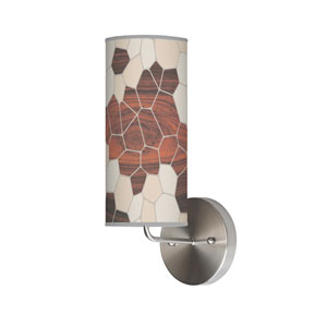 Geode Cream One-Light Wall Sconce