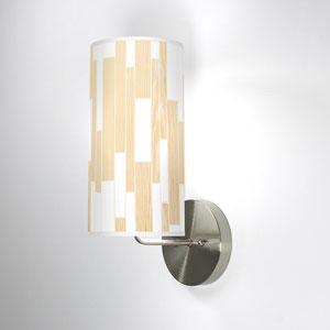 Tile 1 White Oak One-Light Wall Sconce