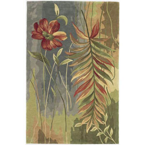 Sparta Multicolor Island Oasis Runner: 2 Ft. 6 In. x 10 Ft. Rug