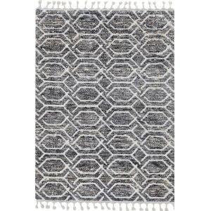 Bungalow Gray Rectangular: 3 Ft. 3 In. x 4 Ft. 11 In. Rug