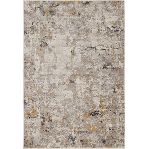 Karina Silver Lucia Rectangle: 7 Ft. 10 In. x 10 Ft. 10 In. Area Rug