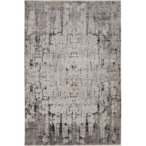 Karina Ivory Grey Palette Rectangle: 5 Ft. 3 In. x 7 Ft. 7 In. Area Rug
