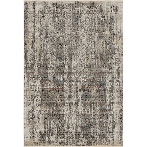 Karina Grey Empire Round: 8 Ft. Area Rug