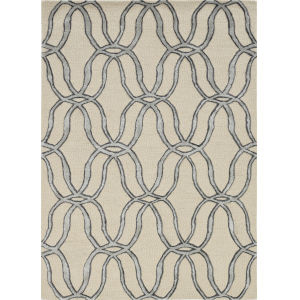 Libby Langdon Upton Silver Runner: 2 Ft. 3 In. x 8 Ft. Rug