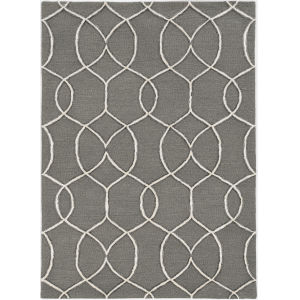 Libby Langdon Upton Charcoal Rectangular: 5 Ft. x 7 Ft. Rug