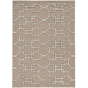Libby Langdon Upton Mocha Runner: 2 Ft. 3 In. x 8 Ft. Rug