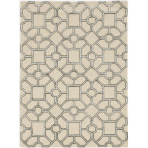 Libby Langdon Upton Beige Runner: 2 Ft. 3 In. x 8 Ft. Rug