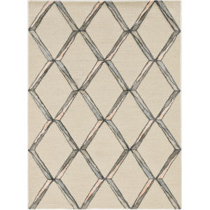 Libby Langdon Upton Cream Rectangular: 5 Ft. x 7 Ft. Rug