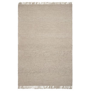 Maui Cable Knit Natural Rectangular: 5 Ft. x 8 Ft. Area Rug