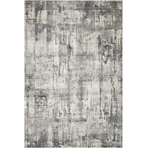 Montreal Moderne Gray Rectangular: 5 Ft. 3 In. x 7 Ft. 7 In. Area Rug