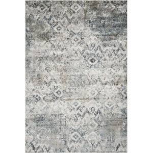 Montreal Avery Teal Round: 7 Ft. 7 In. Area Rug
