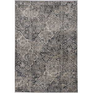 Montreal Gray Round: 7 Ft. 7 In. Area Rug