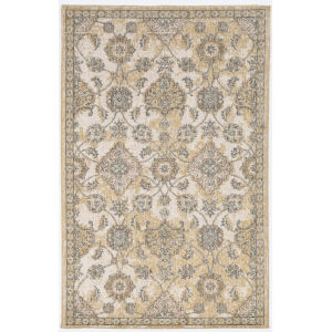 Ria Sofia Ivory Sand Rectangular: 3 Ft. 3 In. x 5 Ft. 3 In. Area Rug