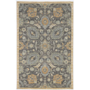 Ria Morris Taupe Rectangular: 3 Ft. 3 In. x 5 Ft. 3 In. Area Rug